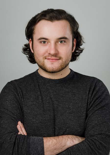 Actor headshot, shot in studio in Coventry